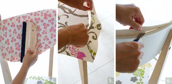 DIYの新アイディア!壁紙で椅子をリメイク