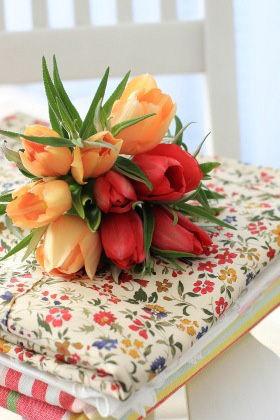 色遊び・柄遊び~一足早い春を感じる花アレンジ