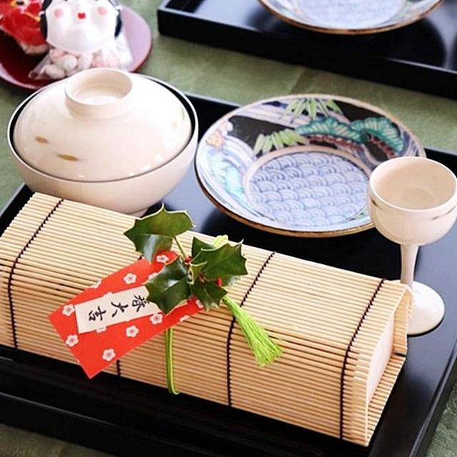 縁起の良い「立春大吉」のお札風飾りの作り方 立春のテーブルコーディネートに