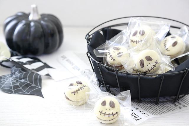 ハロウィン 簡単 マカロン お菓子