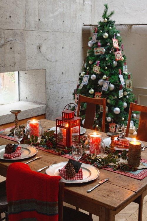 定番の赤×緑のクリスマス 懐かしさと今年らしさをミックスして