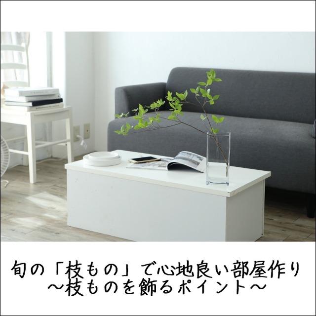 旬の「枝もの」で心地良い部屋作り ~枝ものを飾るポイント~