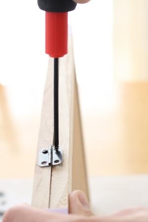 学校プリントをサッと貼ってお洒落に隠すスケジュールボード