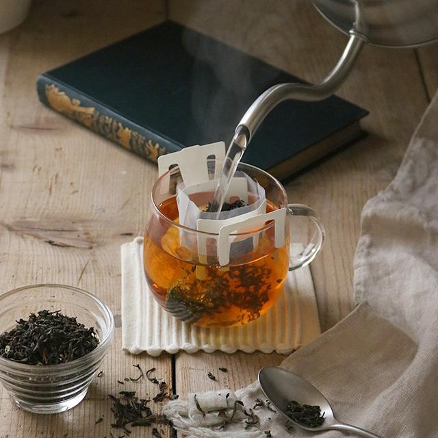 ドリップで簡単&おいしい! マグカップ1つで本格紅茶の味♪