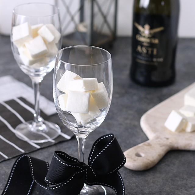 今年は大人バレンタイン♪ ワイン入り手作りホワイトチョコマシュマロの作り方