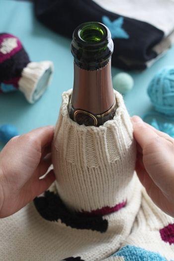 セーターを使ってインテリア提案