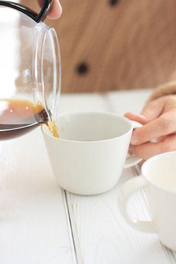選んだのは、三重県四日市市の「萬古焼(ばんこやき)」 のマグカップ。