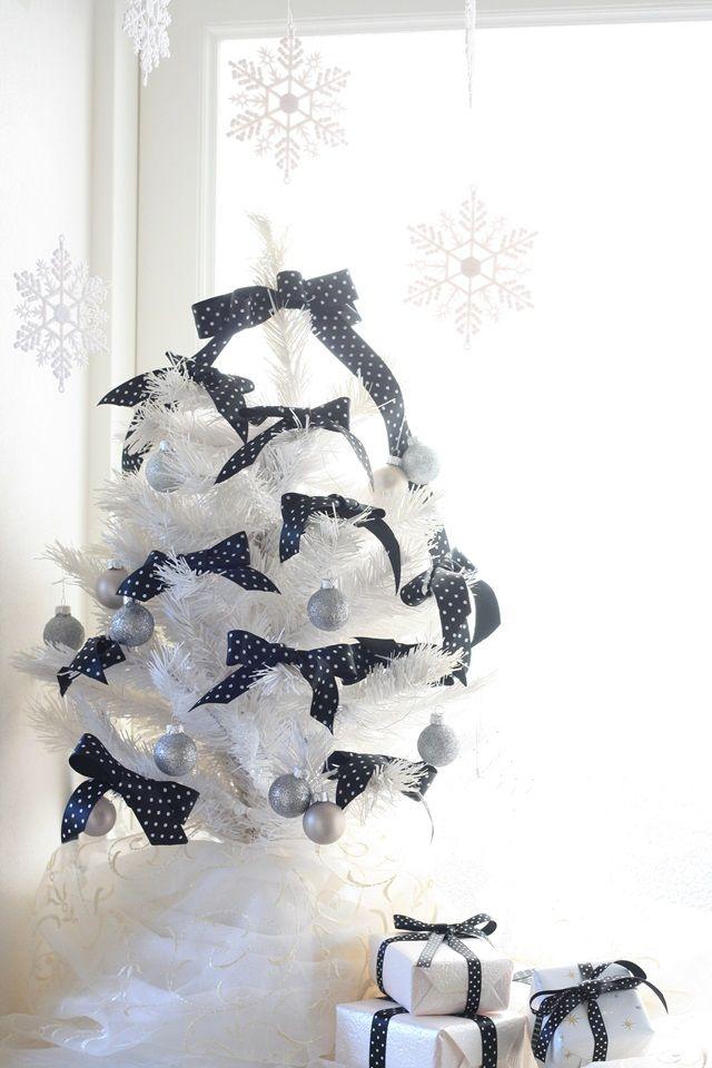 リボンを使って♪ 大人シックなクリスマスを楽しむ