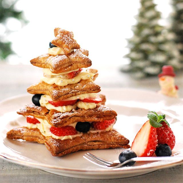 市販のパイシートで簡単に♪ クリスマスケーキを作ってみよう!