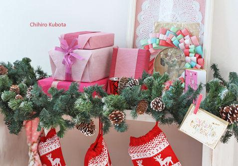 ◆クリスマスNo.11 コンソールをクリスマス用にデコレーション