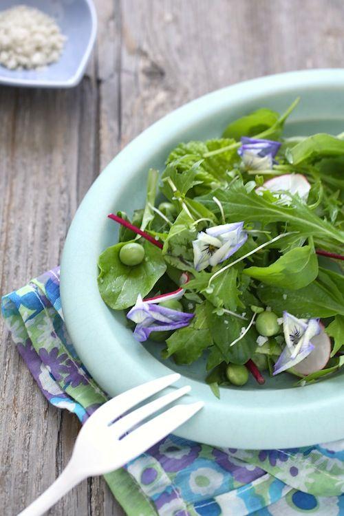 春を呼ぶイエローグリーン+1カラーで食卓に彩りを