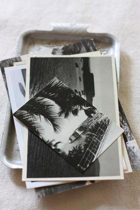 写真、チケット、ショップカード・・・思い出がまるごとつまったオリジナルアルバム