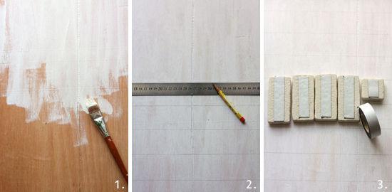 簡単DIY~レンガで壁づくり