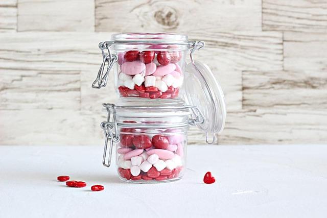 バレンタイン 簡単 バレンタインジャー 作り方