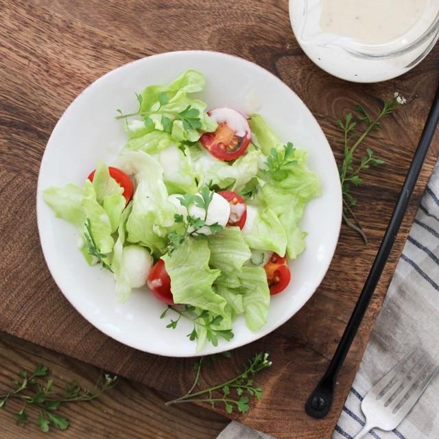 [美味しい雑草:タネツケバナ] サラダに散らして召し上がれ♪