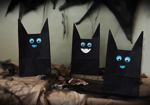 ハロウィンにいかが? ~  黒猫こうもり風なラッピング