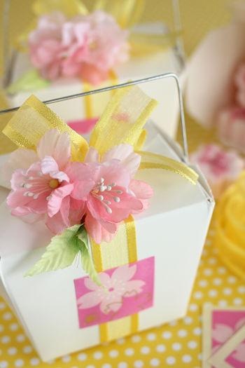 桜のマシュマロで春を楽しく