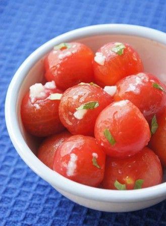 漬けるだけ♪塩麹で美味しくトマトサラダ