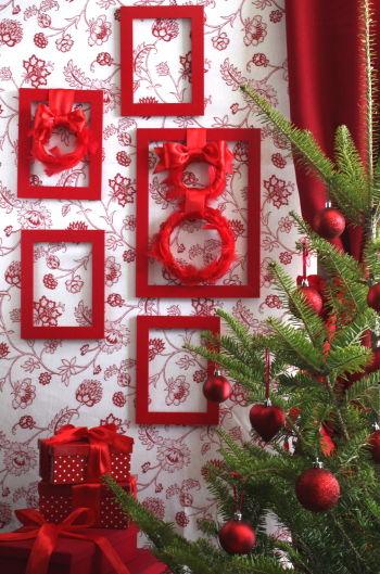 ◆クリスマスNo.12 3coinsの手づくりクリスマスリース