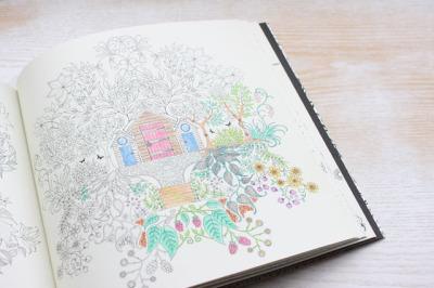 大人の塗り絵・カラーリングカード