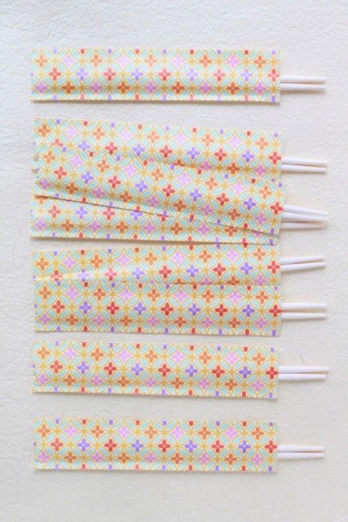 可愛いお祝い箸が、100円ショップで♪