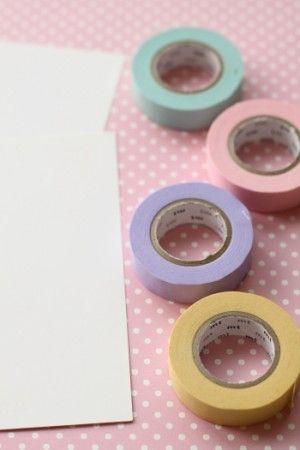 マスキングテープで、カンタン!手作り年賀状