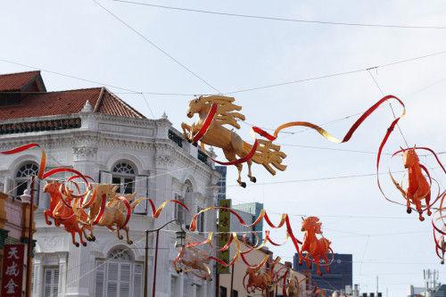 シンガポールより 新年快楽!運気アップの金柑を旧正月のインテリアに