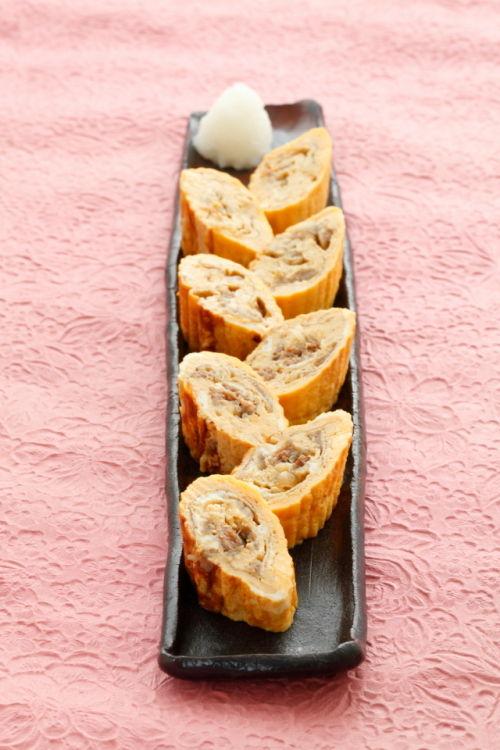 吉野家「牛丼の具」で日本料理屋さんみたいな卵焼き