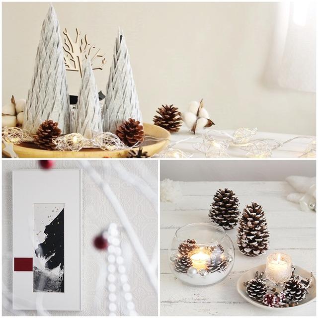 プチプラで簡単!  シンプルなクリスマス飾りの作り方 3選