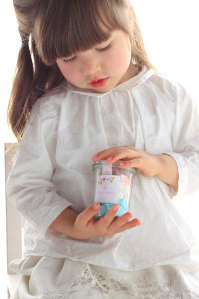 ミニプレゼントに子どもと作るラムネ