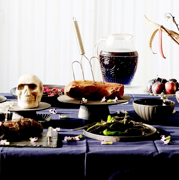 怖さ倍増!ハロウィーン 料理に役立つ3色の食材集