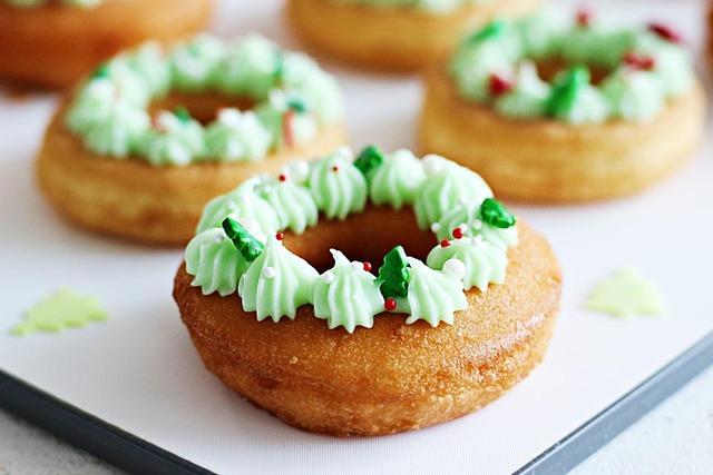 クリスマス レシピ コンビニ 簡単 ドーナツ