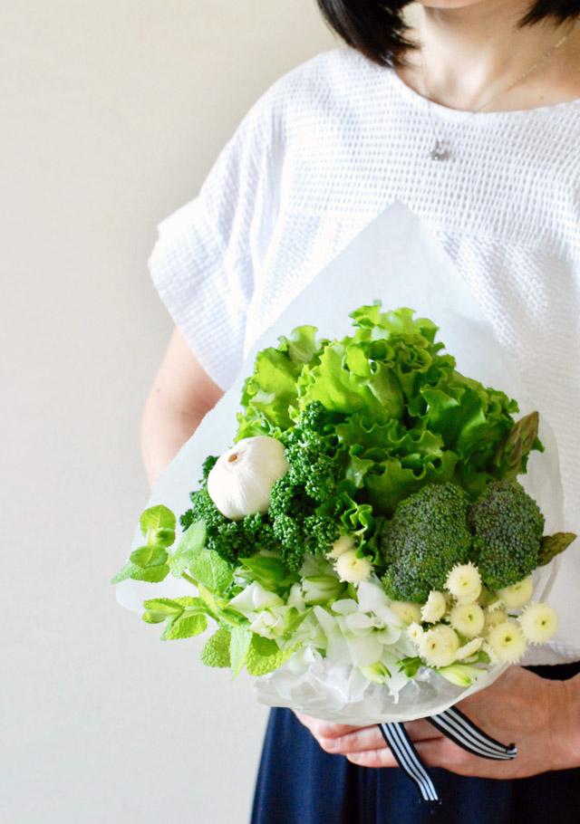野菜 ベジタブル ブーケ スーパー グリーン 作り方 簡単