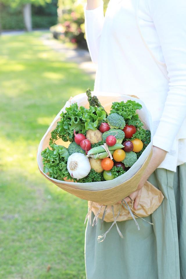 ベジブーケ 野菜 ベジタブル ブーケ 作り方 簡単