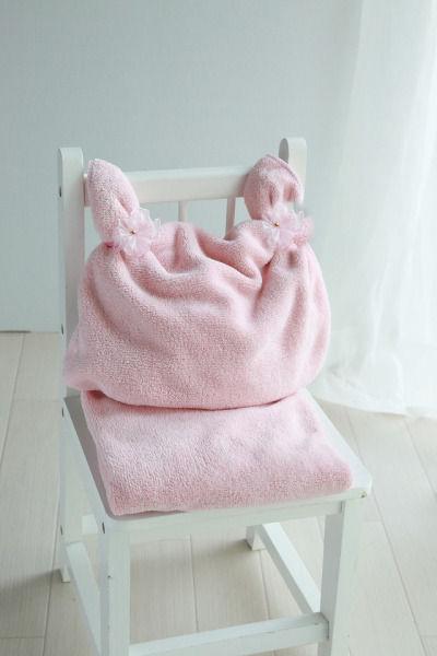 可愛い赤ちゃん枕がこんなに簡単に!