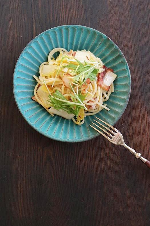 白菜 パスタ 作り方 簡単 レシピ