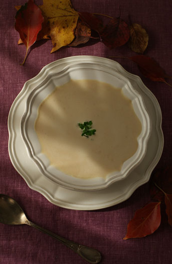 ほんのりと甘い秋 栗のポタージュスープ
