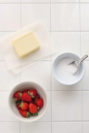 ストロベリーバターで朝食をワンランクアップ