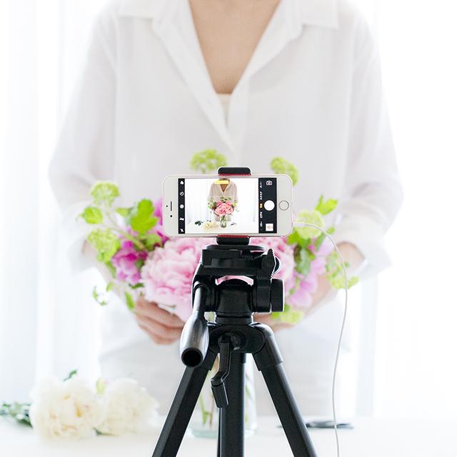 サロネーゼ&ネットショップオーナー必見!手や体が入った作業写真の撮り方 第2弾インカメラ編