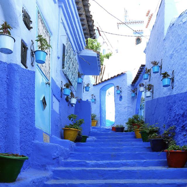 一度は写真に撮りたい! モロッコの青い街「シャウエン」