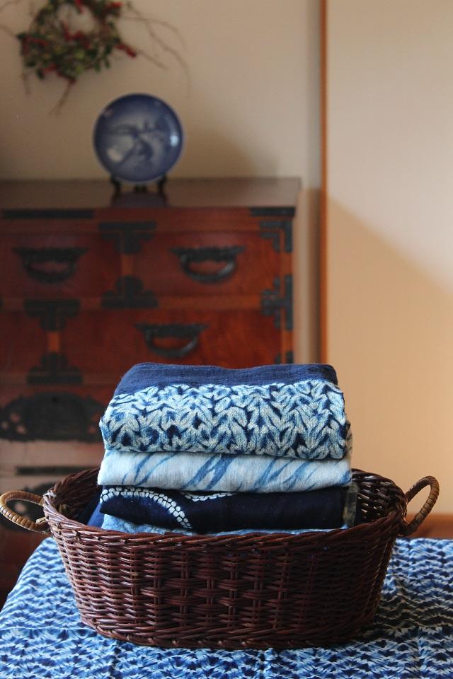 藍染め お手入れ 洗濯 収納