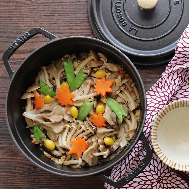 麺つゆが決め手! 新米の季節に作りたい「キノコたっぷりの炊き込みご飯」