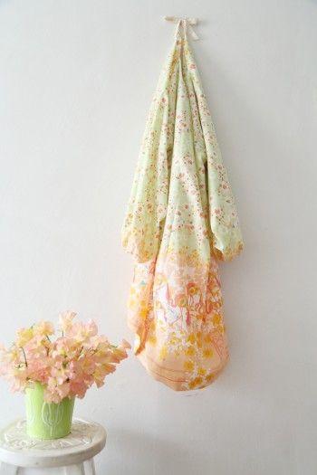 今年の春は、花柄ふんわり割烹着がおすすめ!