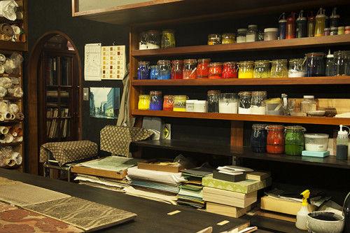 400年続く唐紙制作工房「唐長」を訪ねて