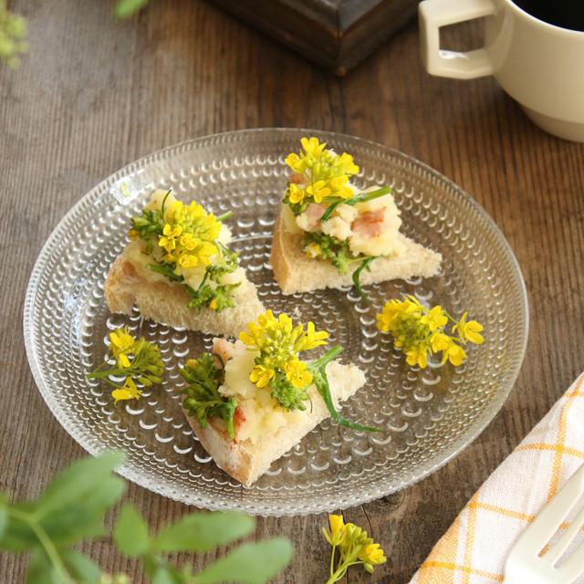 [美味しい雑草:セイヨウカラシナ] 大人のピリ辛ポテトサラダの作り方