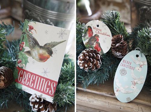 2012クリスマス特集・2 お手軽ガーランドのディスプレイ