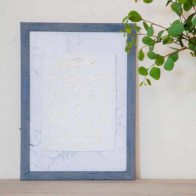ペイントDIY♪ 100均フレームで紙類をオシャレに飾る3つのヒント