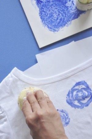 ヒミツ兵器で簡単!初めてでも描けるブルーローズのTシャツ