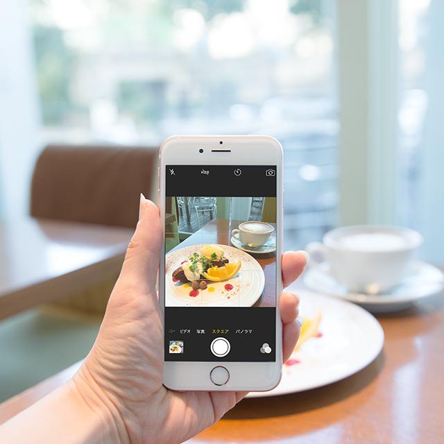 iPhoneカメラで簡単&美味しそうに♪ カフェ・スイーツを撮るコツ