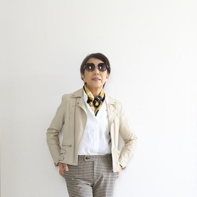 マダムH流おしゃれのルール~佐藤治子さんインタビュー(2)